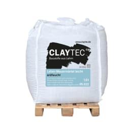 CLAYTEC Lehm-Mauermörtel LEICHT ERDFEUCHT 1000 kg