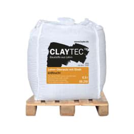 CLAYTEC Lehm-Oberputz grob mit Stroh ERDFEUCHT 500 kg