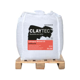 CLAYTEC Lehmputz Mineral 20 ERDFEUCHT 500 kg