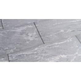 Seltra EMPEROR® MAXIMA NEGRO SANTIAGO, 80x40x3cm (Werkmass 79,5x39,5x3cm) anthrazit-gebändert