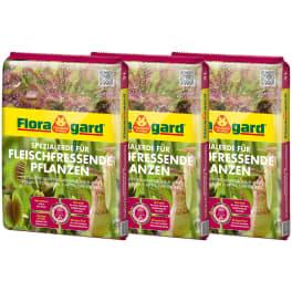 Floragard Spezialerde für fleischfressende Pflanzen 3x3L