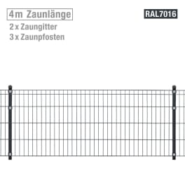 Metallzaun-Set Michl