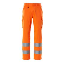 MASCOT Hose mit Schenkeltaschen SAFE LIGHT 18879-860 Damen & Herren orange L30W27