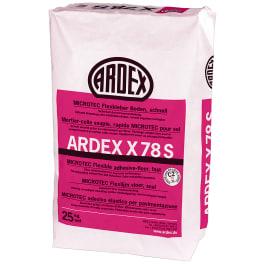 ARDEX X 78 S MICROTEC Flexkleber Boden, schnell 25 kg Papiersack