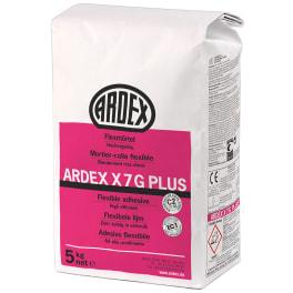 ARDEX X 7 G PLUS Flexmörtel 5 kg Beutel (VE = 4 Beutel)