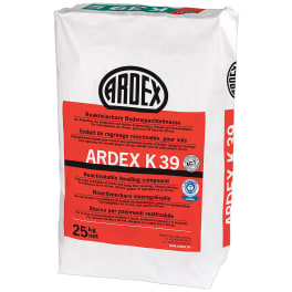 ARDEX K 39 Reaktivierbare Bodenspachtelmasse 25 kg Papiersack
