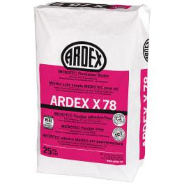 ARDEX X 78 MICROTEC Flexkleber, Boden 25 kg Papiersack