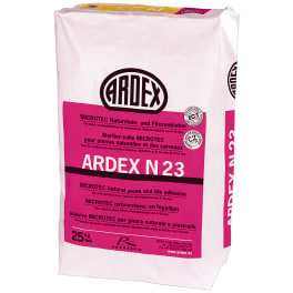 ARDEX N 23, MICROTEC Naturstein- und Fliesenkleber 25 kg Papiersack
