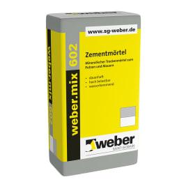 weber.mix 602 Zementmörtel eine Palette 25 kg Säcke