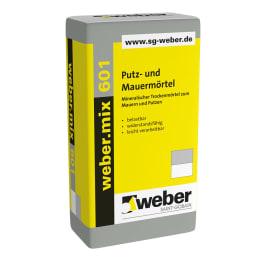 weber.mix 601 Putz- und Mauermörtel eine Palette 25 kg Säcke