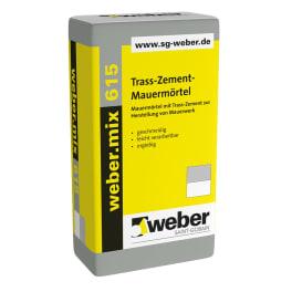 weber.mix 615 Trass-Zement-Mauermörtel eine Palette
