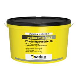 weber.mix 682 Pflaster-Fugenmörtel PU eine Palette schwarz