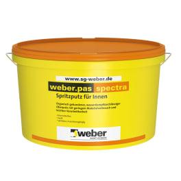 weber.pas spectra Spritzputz für Innen eine Palette