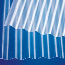 Scobalit Polyester Wellplatte natur