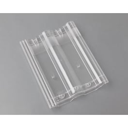 Braas Frankfurter Pfanne Lichtpfanne, transparent