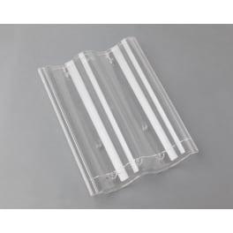 Braas Harzer Pfanne 7(BIG) Lichtpfanne, transparent