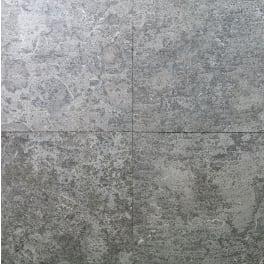 Panther Garden & Living - Kalksteinplatten Gandia blau-grau (60 x 60 x 2,5 cm) geflammt und gebürstet / gesägt