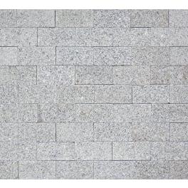 Panther Garden & Living - Granit Pflaster/Klinker Torrent hellgrau (20 x 10 x 5 cm) gesägt und geflammt / gesägt mit Fase