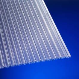 Scobalit Polycarbonat Hohlkammerplatte X-Str. 16 mm klar