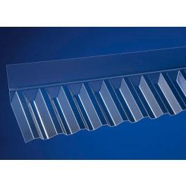 Scobalit Wandanschluss acryl Trapez 76/18 transparent