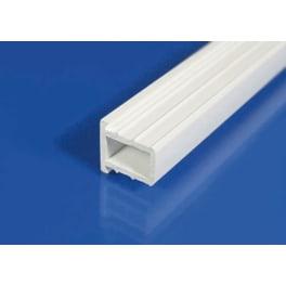 Scobalit Hart PVC Profil weiss