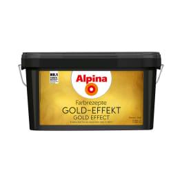 Alpina Farbrezepte Gold-Effekt 4 Liter