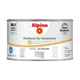 Alpina Weisslack für Heizkörper