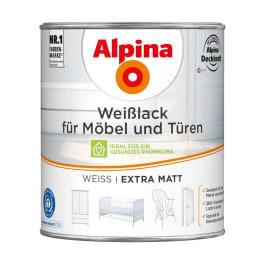 Alpina Weisslack für Möbel und Türen