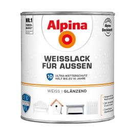 Alpina Weisslack für Aussen