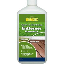 BONDEX Algen- und Moosentferner 1,0L farblos Konzentrat
