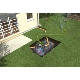 PLATIN XL Flachtank - Paket Garten-Komfort