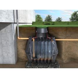 CARAT Basis-Erdtank Sedimentationstank DWA-M 153