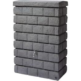 ROCKY JR Wandtank 300L,dark granite