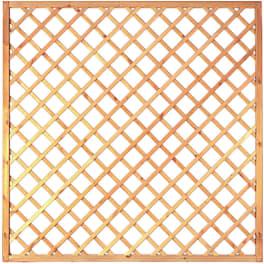 T&J Diagonal-Rankzaun grün 10 x 10 cm   180 x 180 cm  Rahmen 45/45 mm