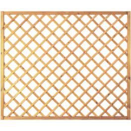 T&J Diagonal-Rankzaun grün 10 x 10 cm   180 x 150 cm  Rahmen 45/45 mm