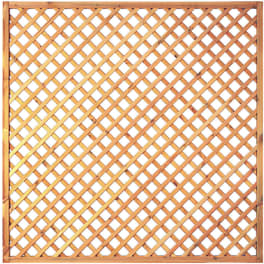 T&J Diagonal-Rankzaun grün 6 x 6 cm  180 x 180 cm  Rahmen 45/45 mm