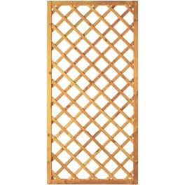 T&J Diagonal-Rankzaun grün 10 x 10 cm   90 x 180 cm  Rahmen 45/45 mm