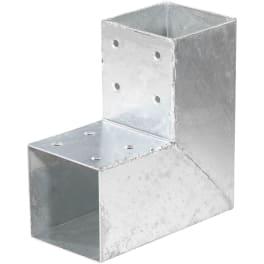 T&J QUATRO-Steckverbinder Ecke einfach, für 9 x 9 cm  20 x 20 x 9 cm