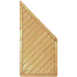 T&J CLASSIC-Serie-Diagonal  90 x 180/90 cm, ECKE Rahmen 40/70 mm, Profilbretter 16/118 mm