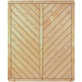 T&J CLASSIC-Serie-Diagonal  150 x 180 cm Rahmen 40/70 mm, Profilbretter 16/118 mm