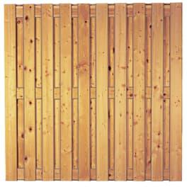 T&J NEWA-Serie sib. Lärche, 180 x 180 cm ohne Rahmen, Lamellen 14/120 mm