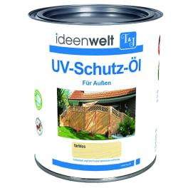 T&J UV-Schutz-Öl, farblos 0,75 Ltr. für Aussen f. ca. 16 m² Fläche/Anstrich
