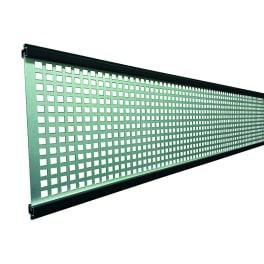 T&J GOTLAND-Serie WPC-Steckzaunsystem Gitterfüllung 1,5 x 206 x 1793 mm ANTHRAZIT
