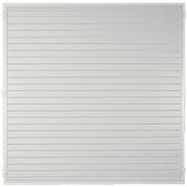 T&J LIGHTLINE KS-Zaunelement 180 x 180 cm Füllung weiss / Rahmen weiss