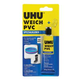 UHU WEICH PVC Tube, Infokarte