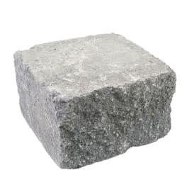EHL BossAntik Light 25/18/15 Halbstein basalt-anthrazit 2-seitig