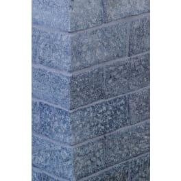 Seltra Granit Seltra Universalstein BRAVO EXACTA -geflammt-, 15x20x35cm edelgrau