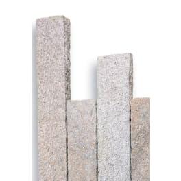Seltra Granit Palisaden -8x20cm- SOL RUSTIQUE, 8x20x100cm gelb-grau