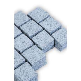 Seltra Granit Pflastersteine BRAVO AMBIENTE -gestockt-, 16x16x12cm edelgrau
