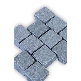 Seltra Kalkstein Pflastersteine MARRAKESCH GRAU-BLAU, 10x10x8cm grau-blau